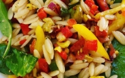 Summer Vegetable Orzo Salad