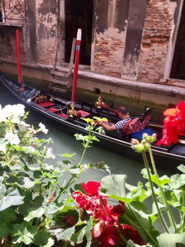 Gondala ride in venice