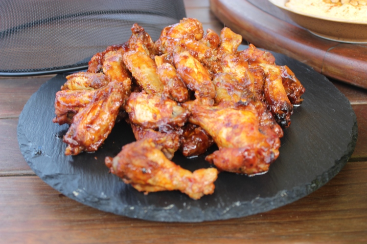 The ultimate party food barbeque chilli chicken wings
