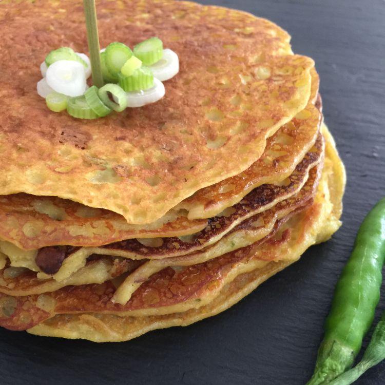 Gujarati Spring Onion Pura