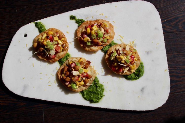 Summer Chaat Puris