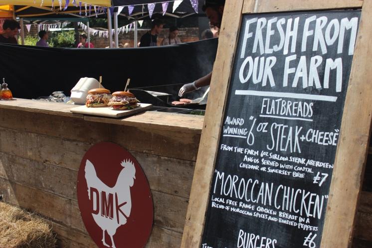 Farm Fresh Food Stall