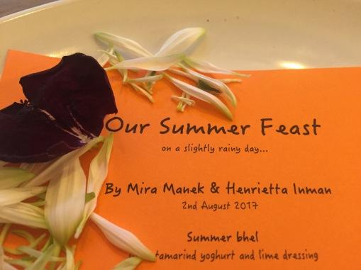 Summer Feast Hosted By Mira Manek & Henrietta Inman