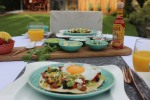 Mexican Sunday Brunch in the garden